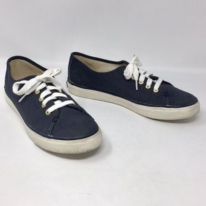 Sperry Topsider Crest Vibe Navy Canvas Sneakers